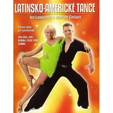 DVD Latinsko - americké tance