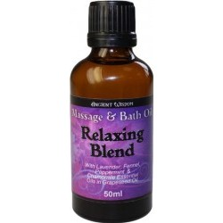 Relaxačný Masážny Olej - 50ml