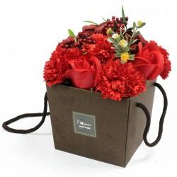 Mydlové Kvety - Ruža a Klinček