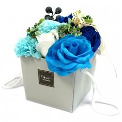 Mydlové Kvety - Svadobné Modré